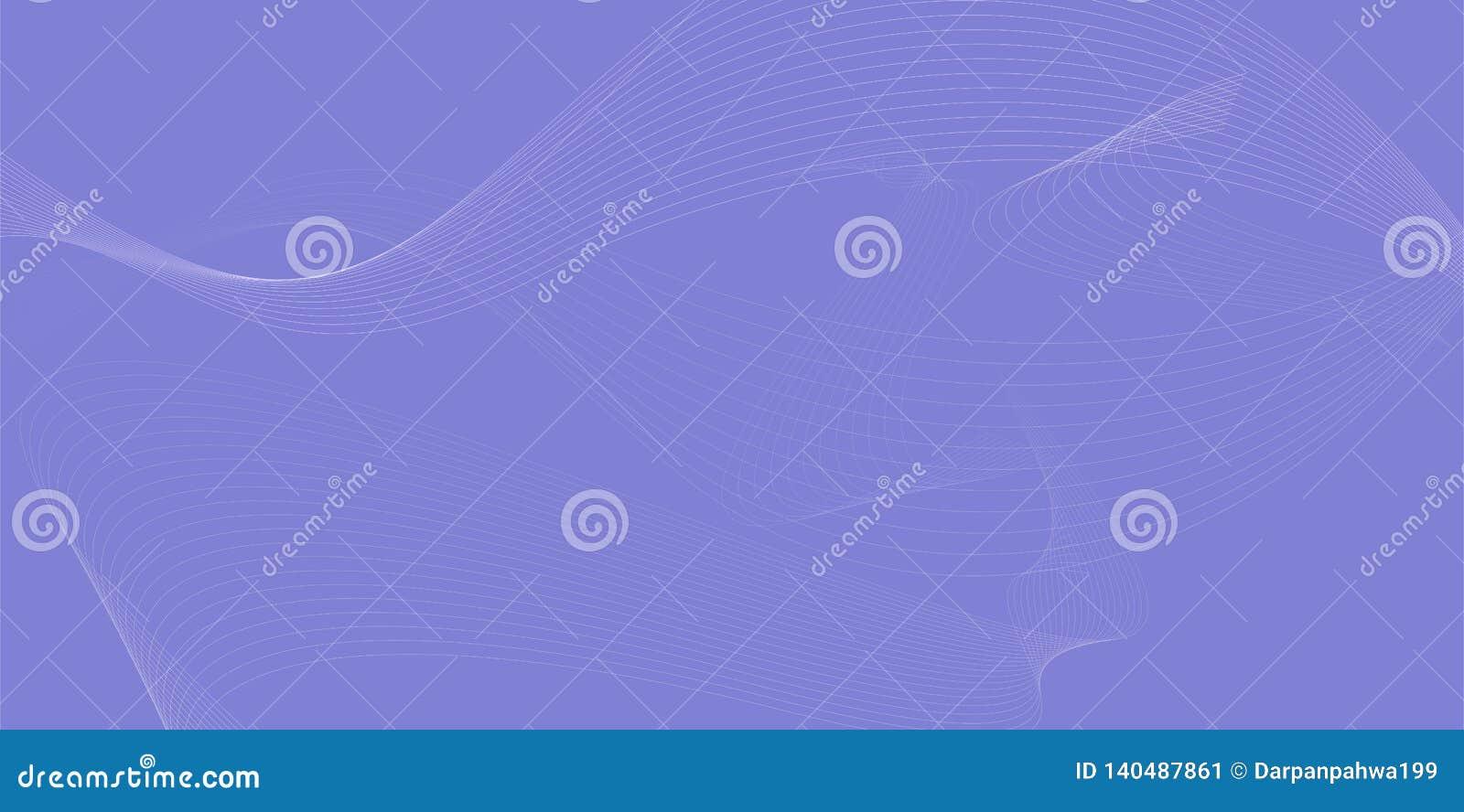 Maglia mescolata, onda futuristica di stile che circola sul fondo astratto porpora 014