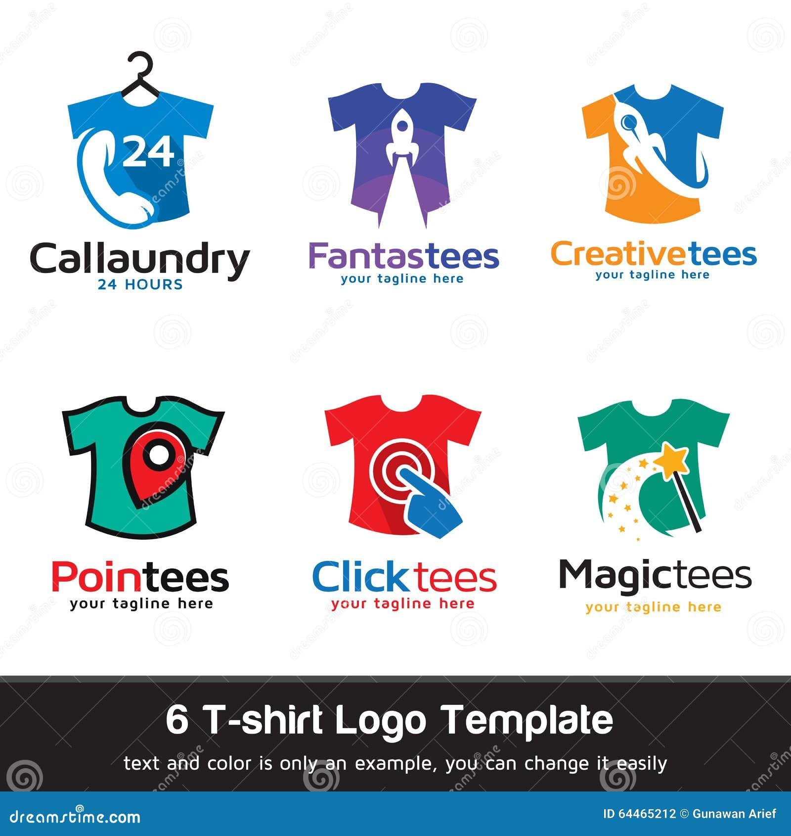 Maglietta Modo Logo Template Design Vector Illustrazione