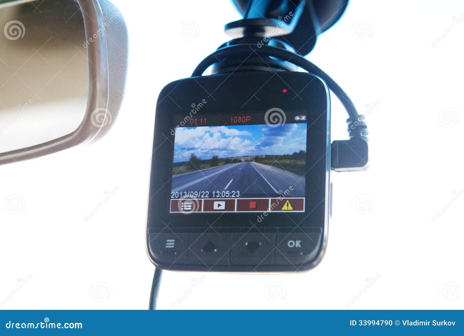 Magnétoscope dans la voiture