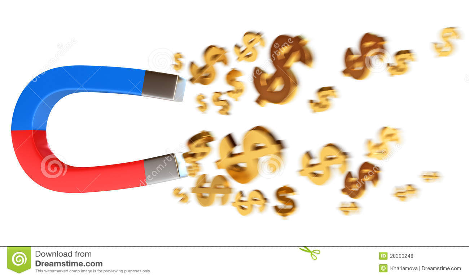 Magnes przyciąga dolary