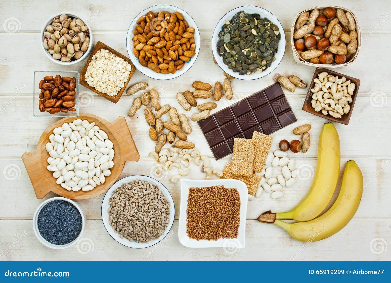 magnesium matvarer