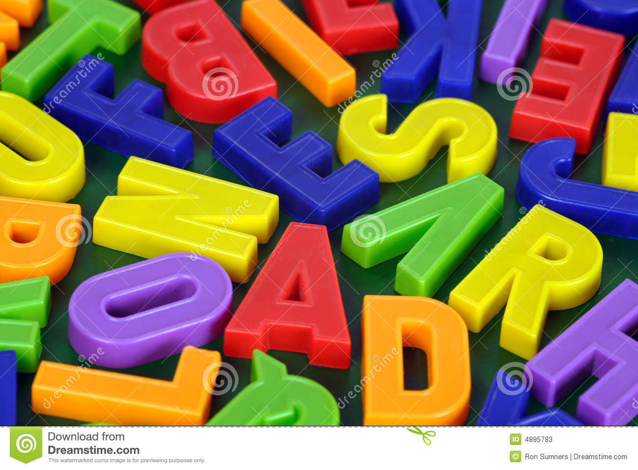 Stock Photos Magnetic Alphabet Image4895783 on Preschool Color Green