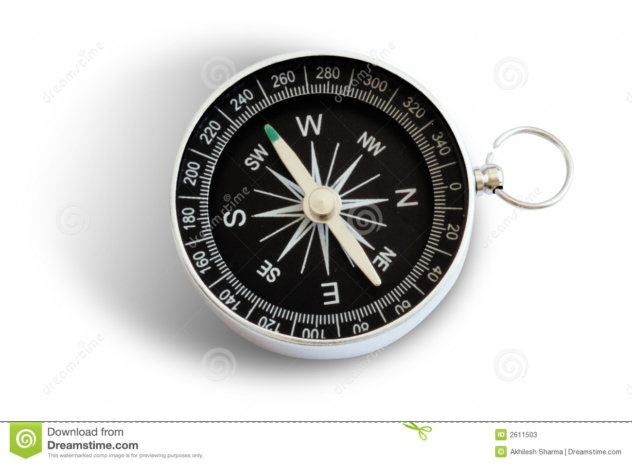 Magnetic Compass Stock Photos Image 2611503