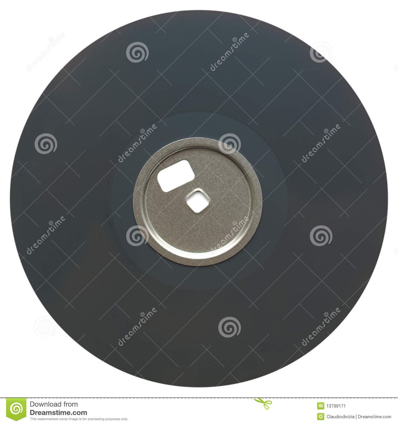 Magnetic Disc Stock Image Image 13799171