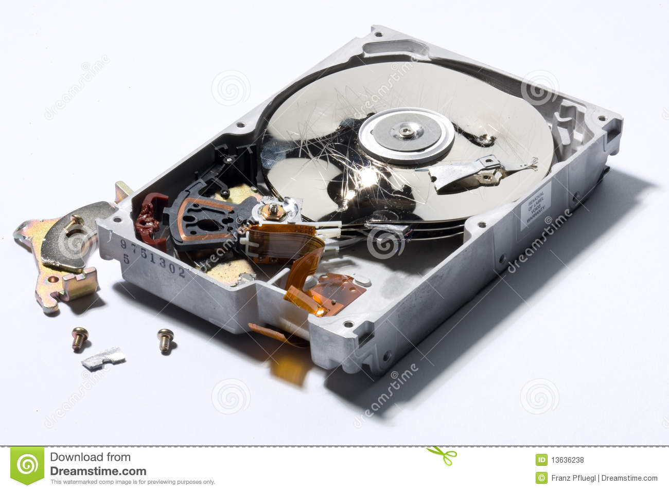 Magnetic Disk Royalty Free Stock Photos - Image: 13636238