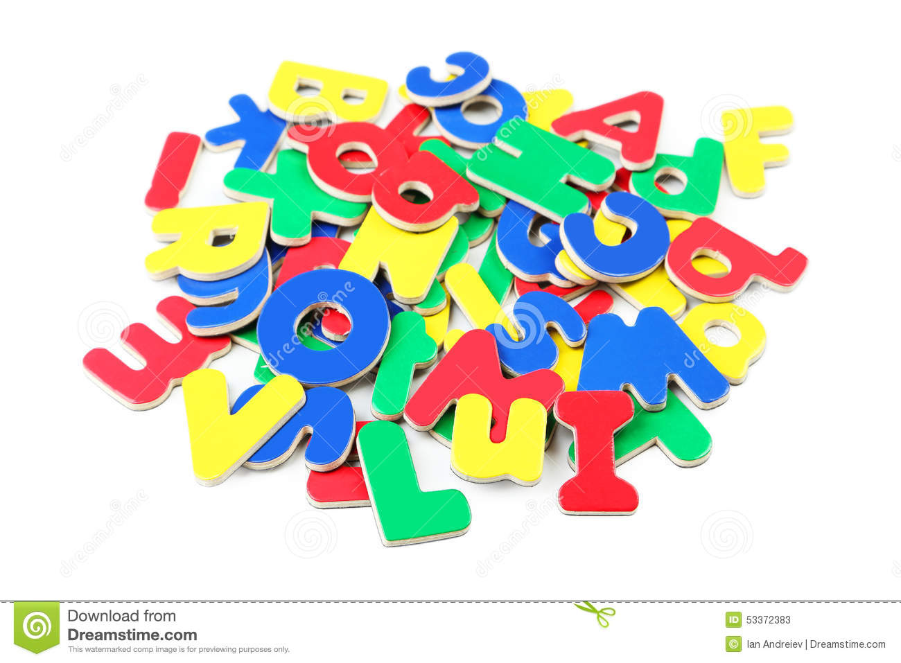 Magnetic letters stock photography cartoondealercom for White magnetic letters and numbers