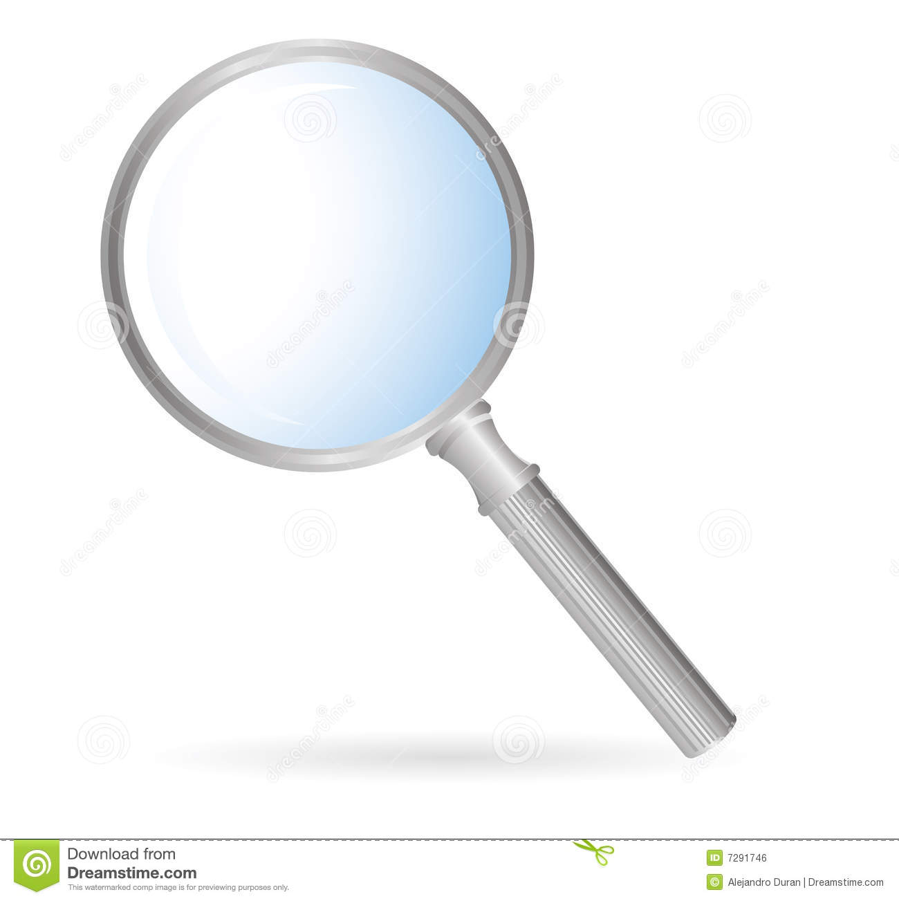 Magnification Glass Royalty Free Stock Image - Image: 7291746