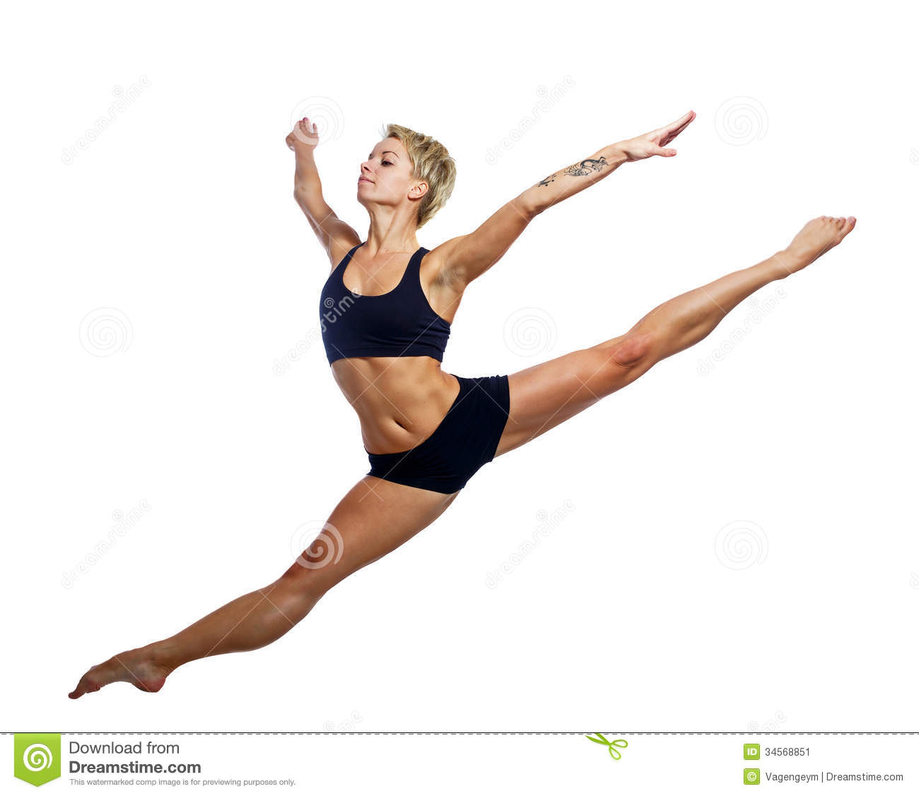 Magnificent Leap Stock Image Image 34568851