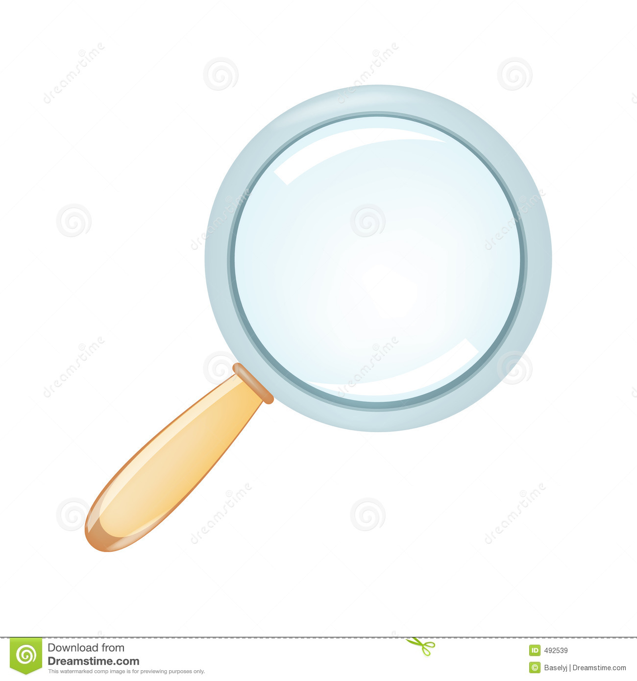 Magnifier Royalty Free Stock Images - Image: 492539