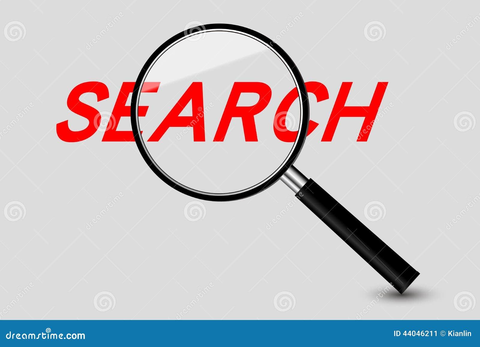 Magnifier en Onderzoekswoord