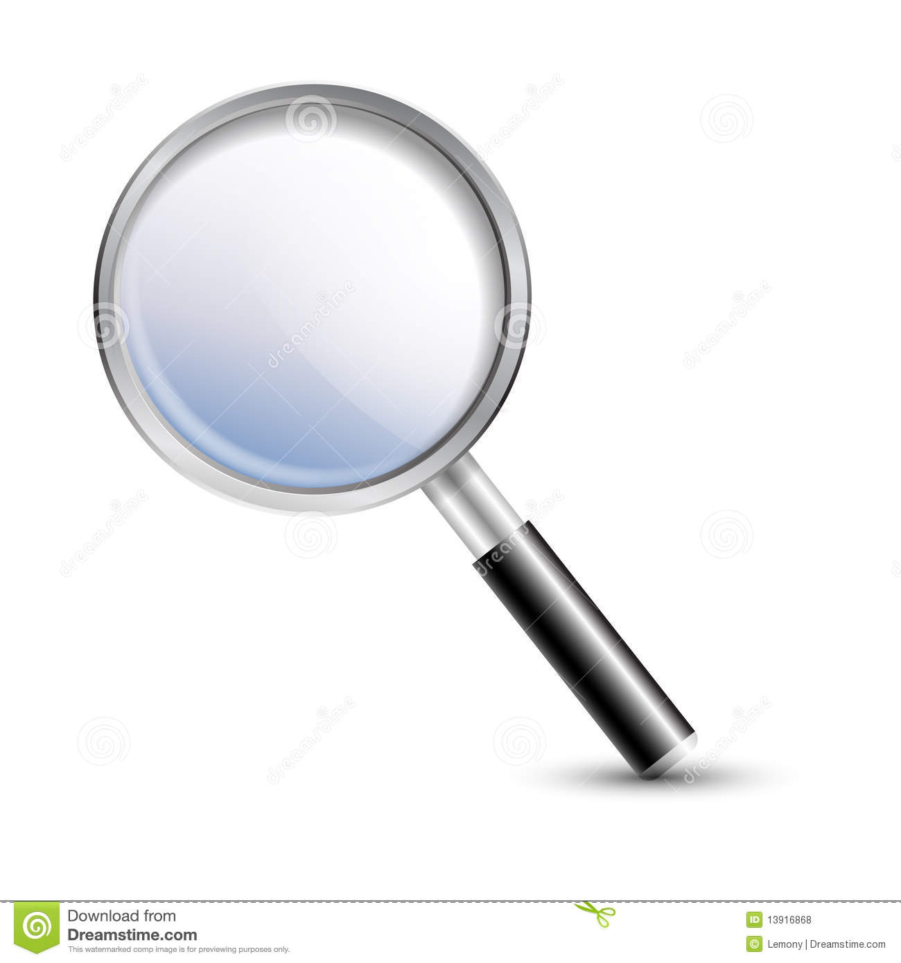Magnifier Magnifying Glass Stock Illustration