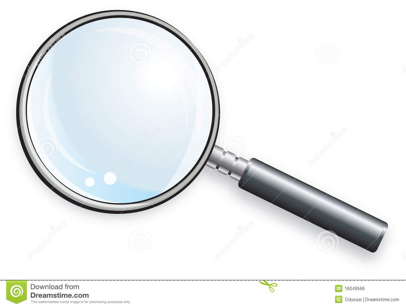 Magnifying Glass Royalty Free Stock Image - Image: 16049566