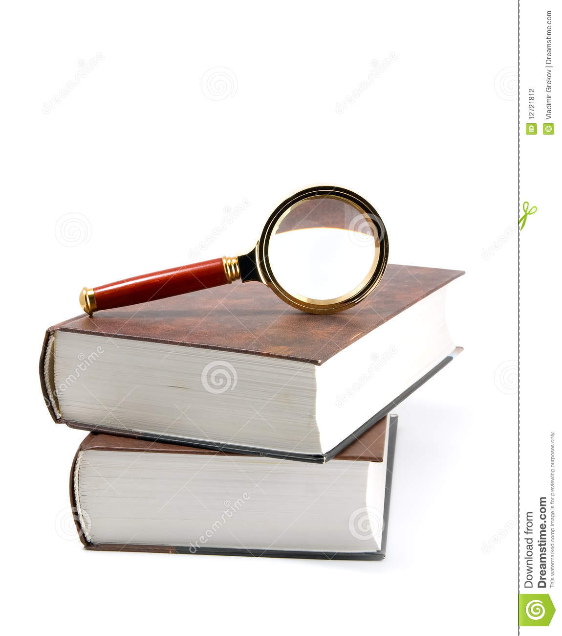 magnifying glass book report