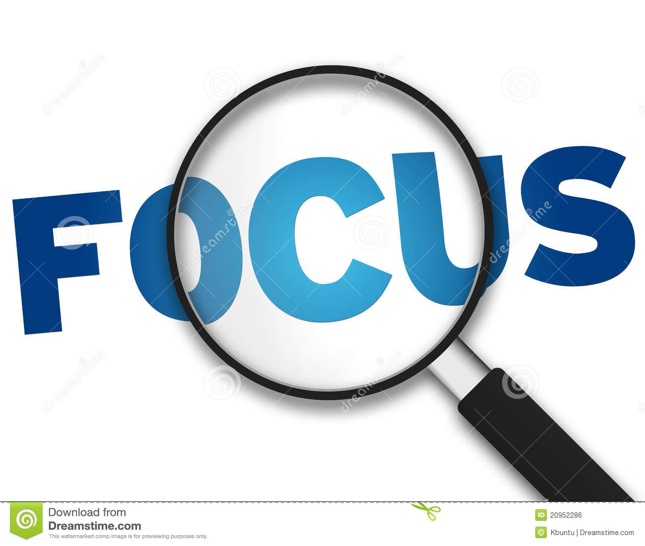Magnifying Glass - Focus Royalty Free Stock Image - Image: 20952286