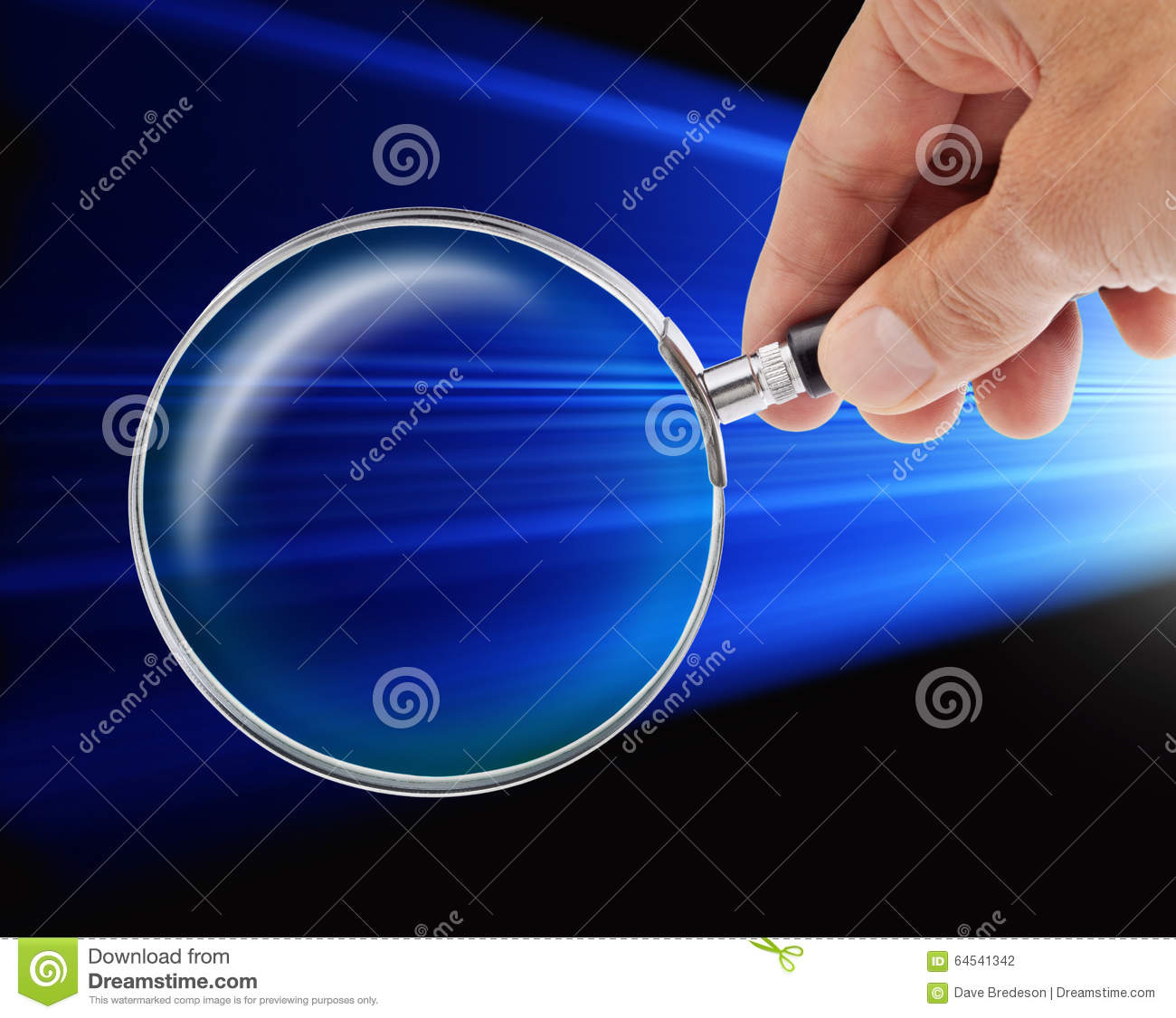 Data Security Word Magnifying Glass Stock Vector ...