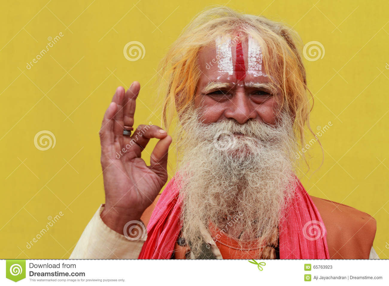 Arresting Sadhus Portrait Photography Religious Photography: Maha Kumbhmela Editorial Stock Photo. Image Of Bearded