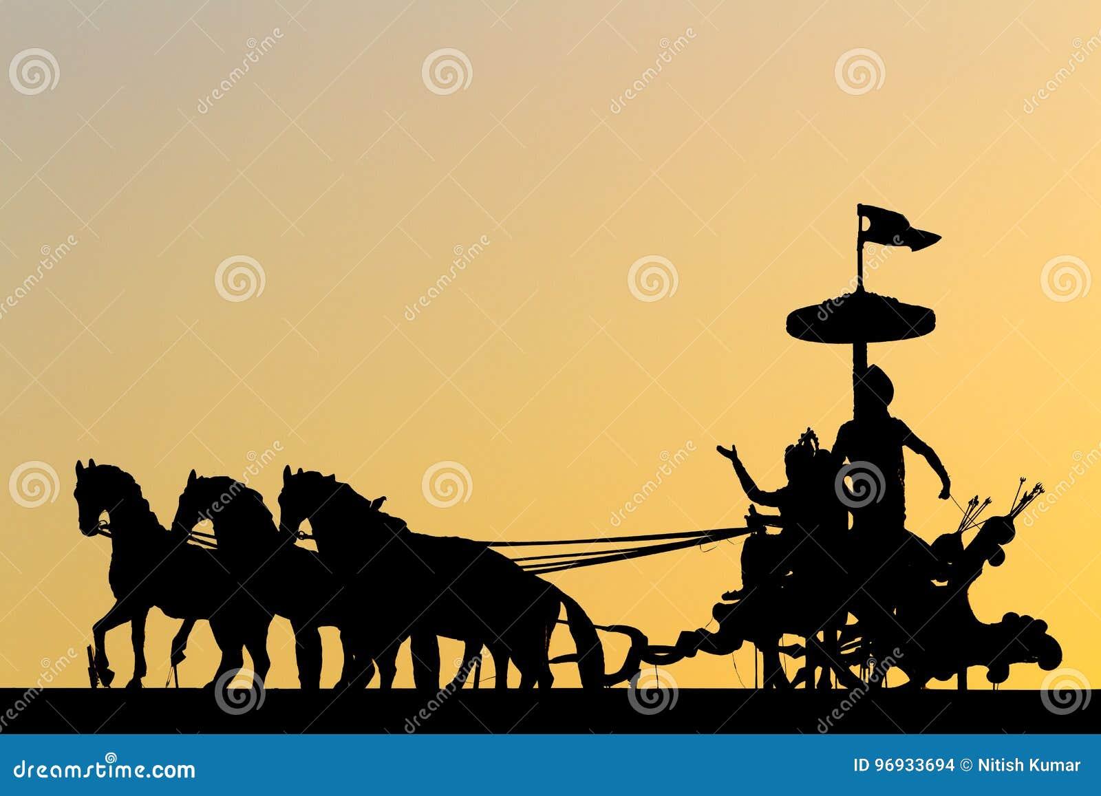 Mahabharata-Schattenbild