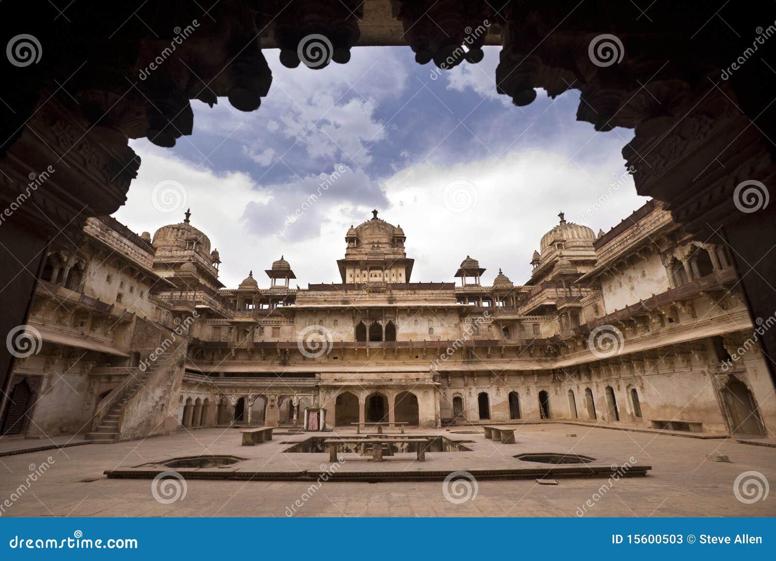 Mahal orchha jahangiri της Ινδίας