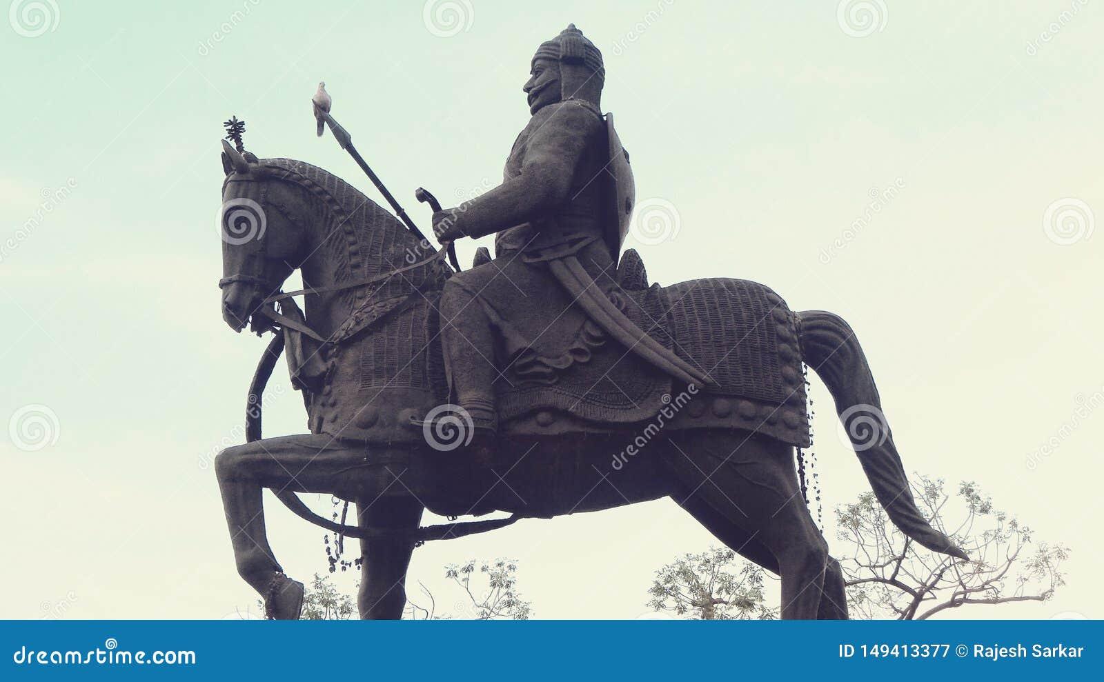 Maharana-pratap Statue