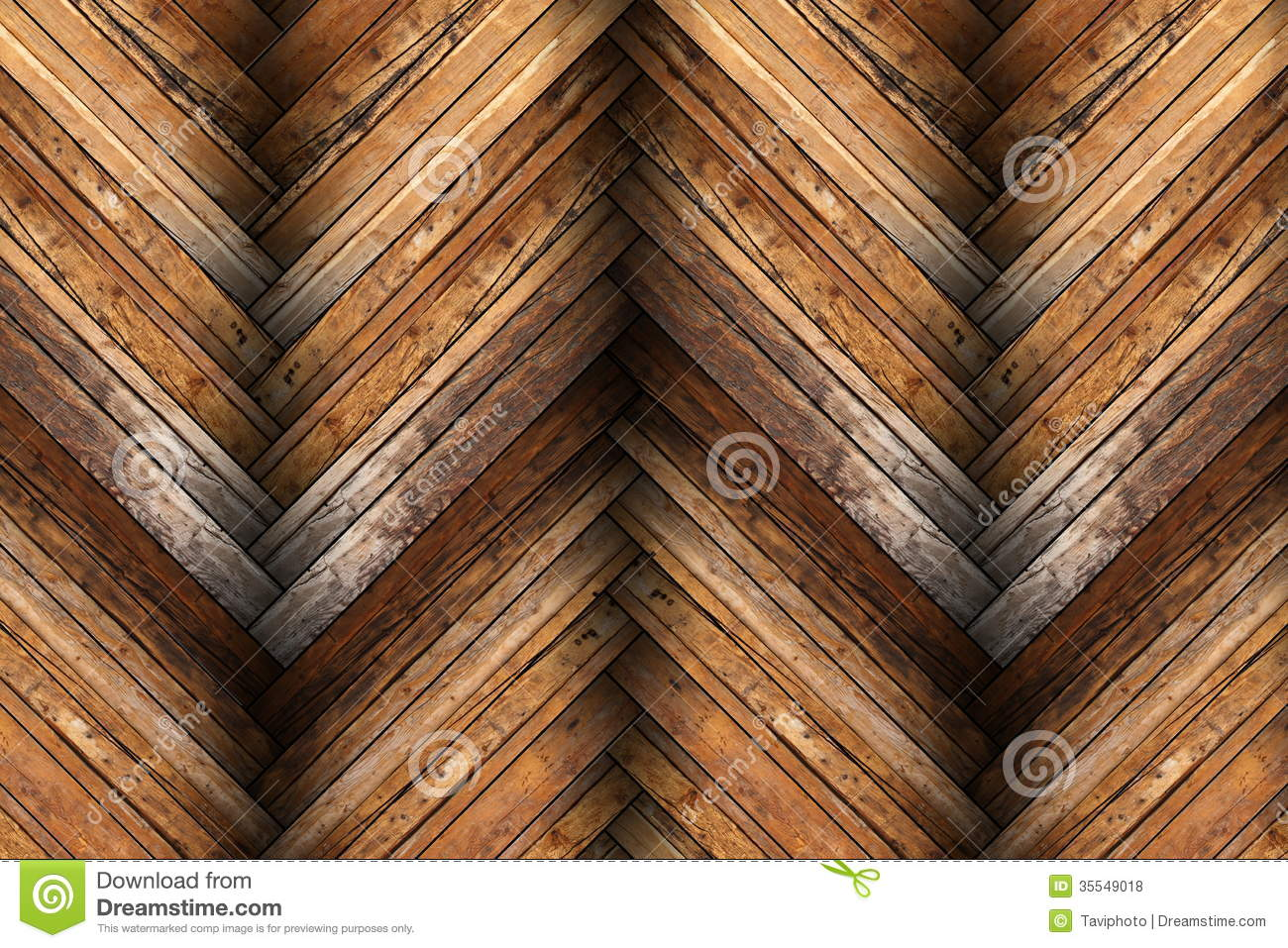 Mahogany Tiles On Wooden Floor Texture Royalty Free Stock