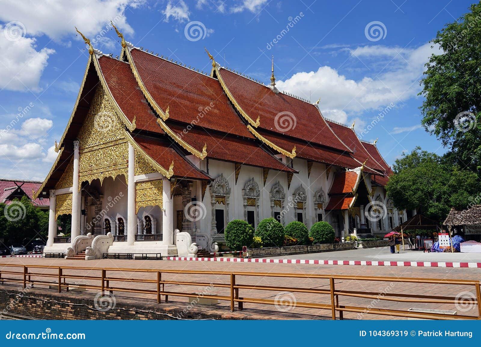 Mai Βούδας Ταϊλάνδη Chedi Luang Wat chiang Θεός βουδισμού ναών