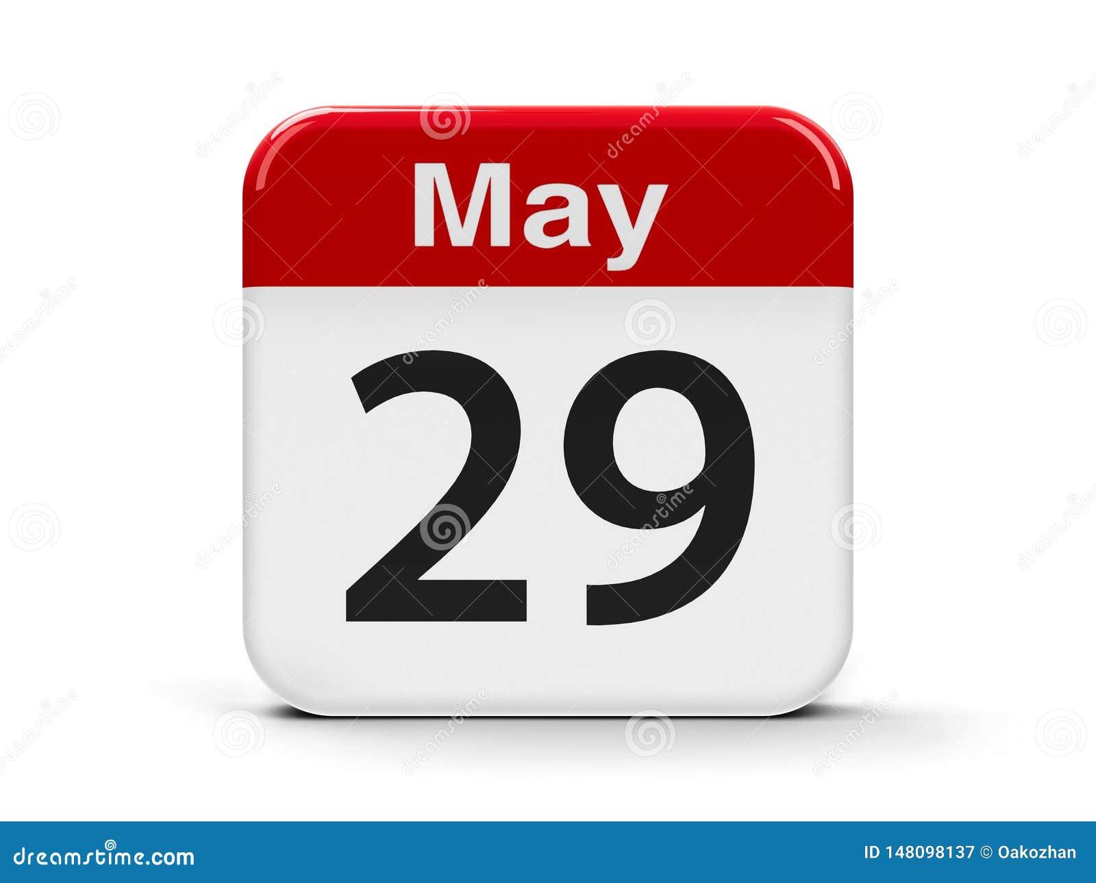 29 mai calendrier