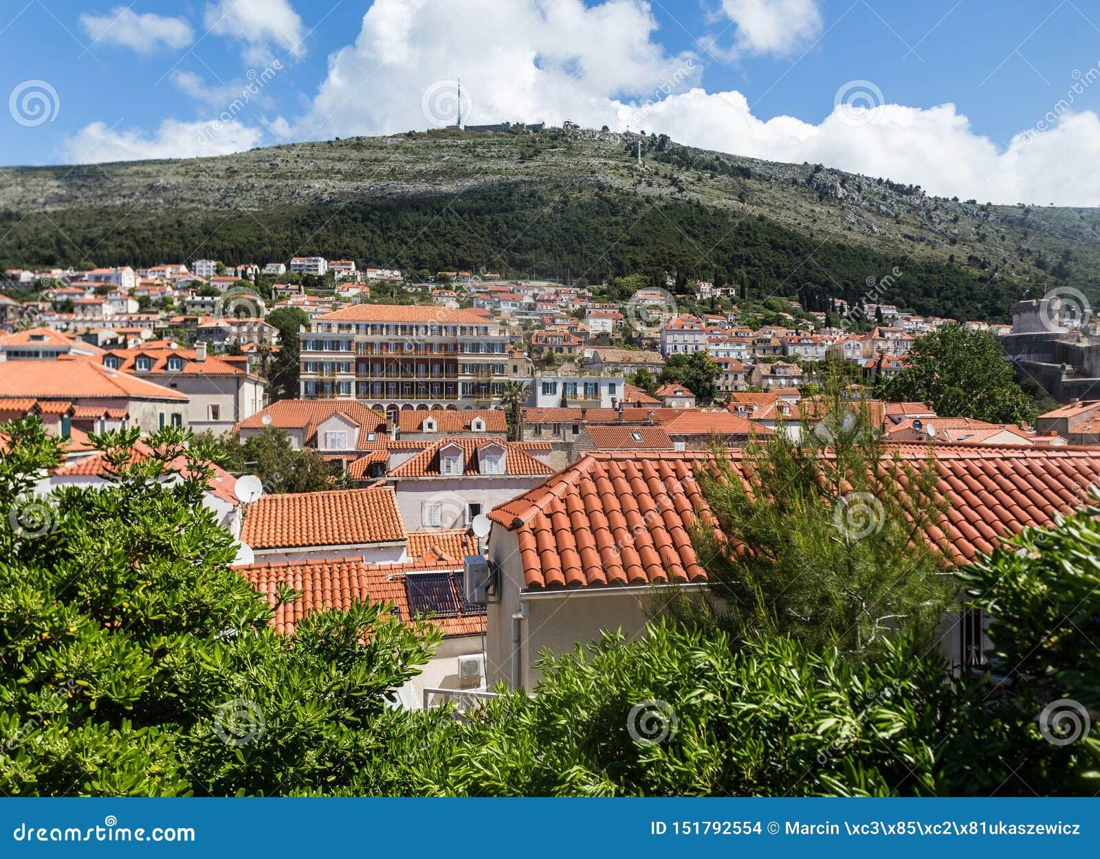 5. Mai 2019 Dubrovnik, Kroatien Moderner Stadtteil