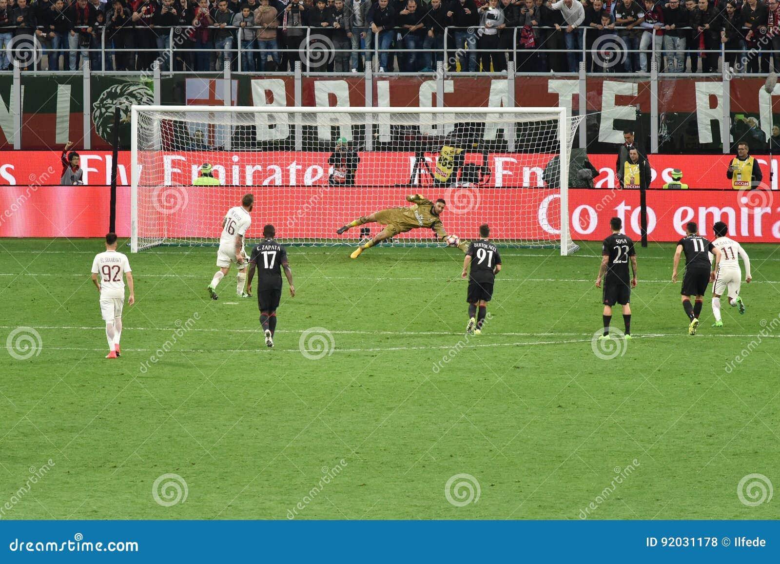 7 Mai 2017 Match De Football Italien Ac Milan Du Serie A Contre