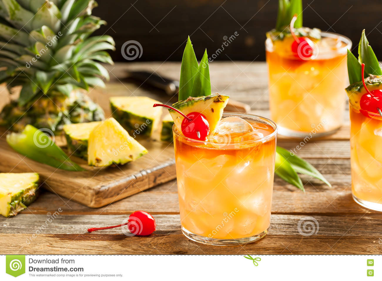 Mai Tai Cocktail faite maison