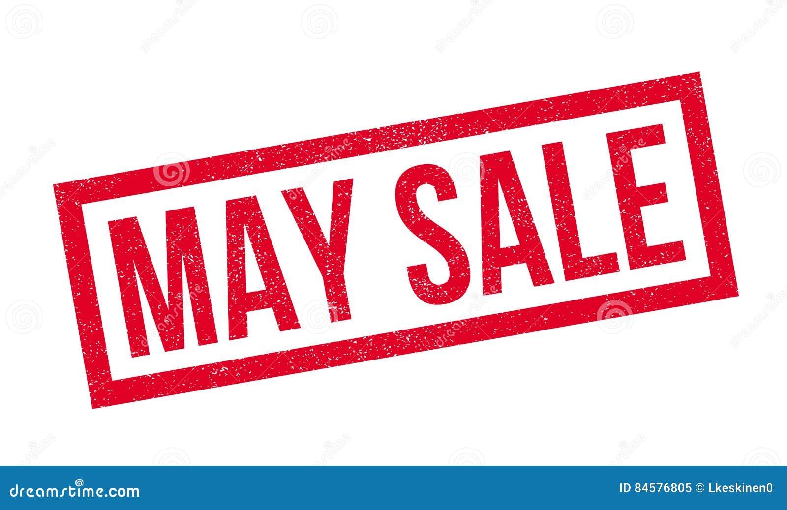 Mai-Verkaufsstempel