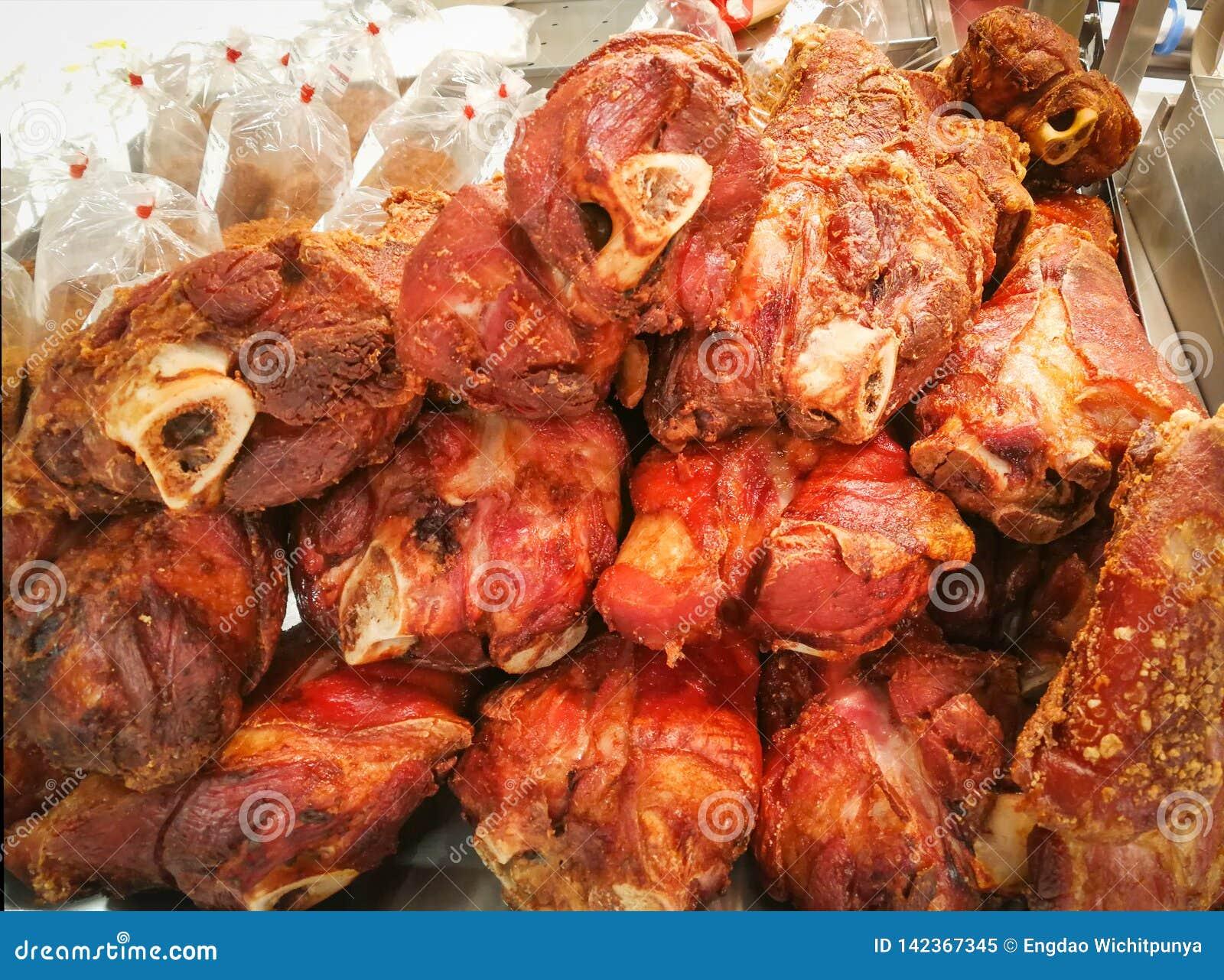 Maiale della gamba dell arrosto di maiale da vendere il mercato