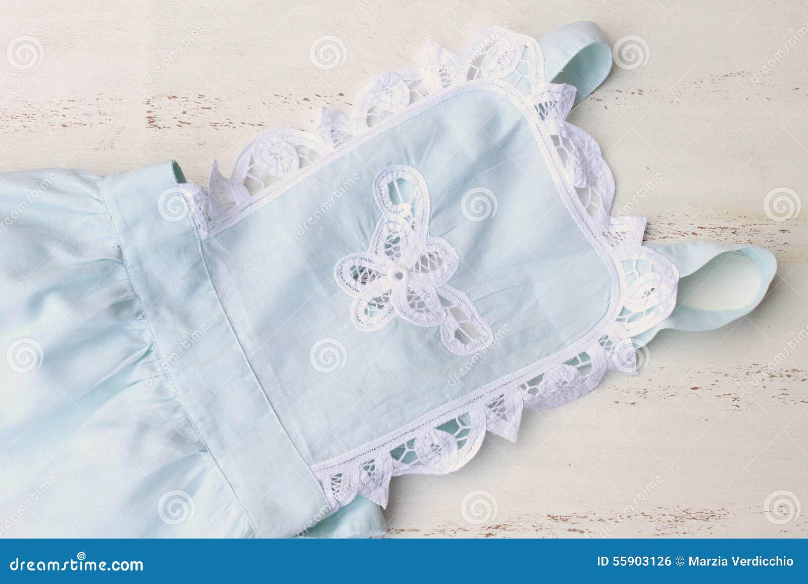 White apron green thumb - Maid Apron