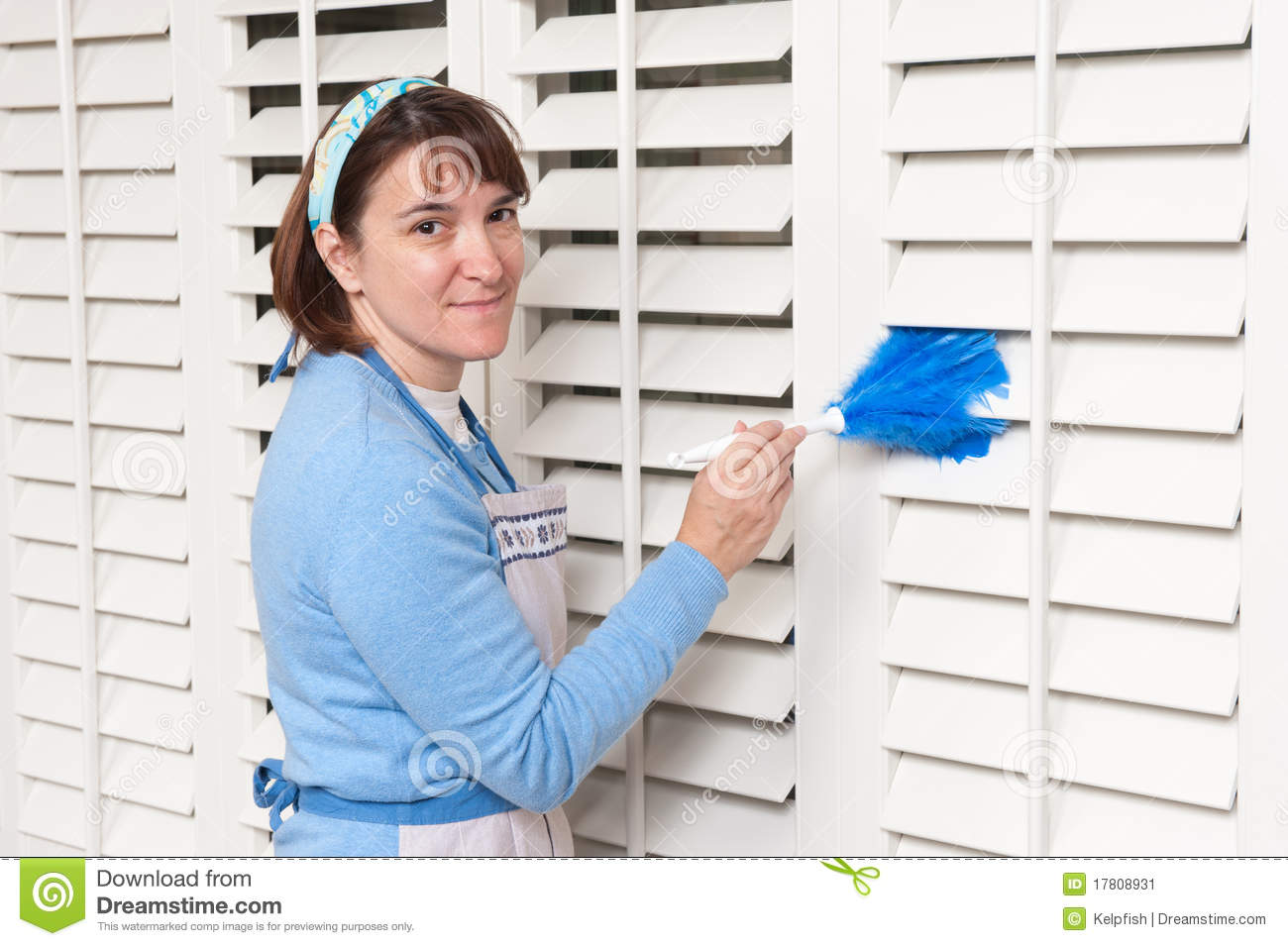 how to clean stuck shutter