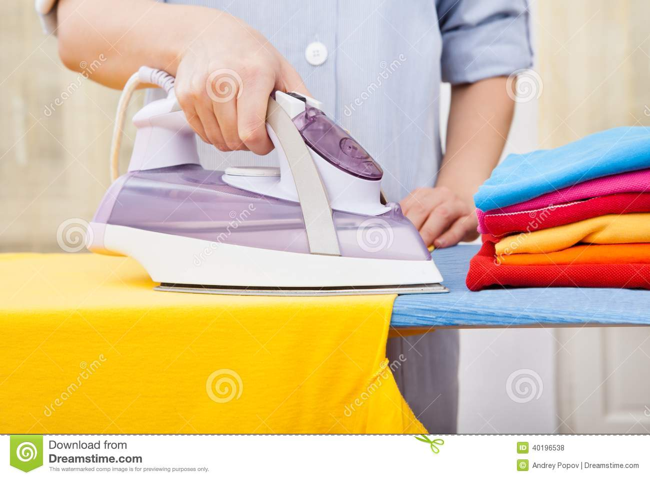White Press Cloth For Ironing