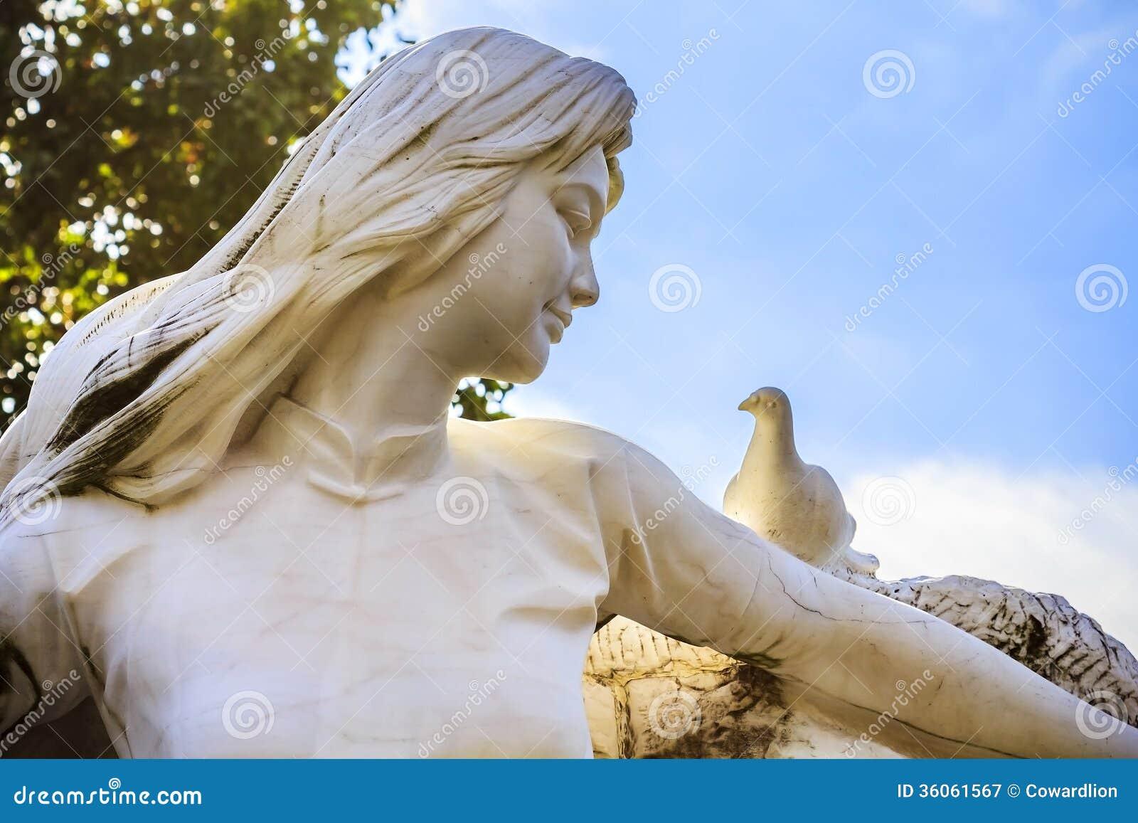 Maiden of Peace at Nagasaki Peace Park