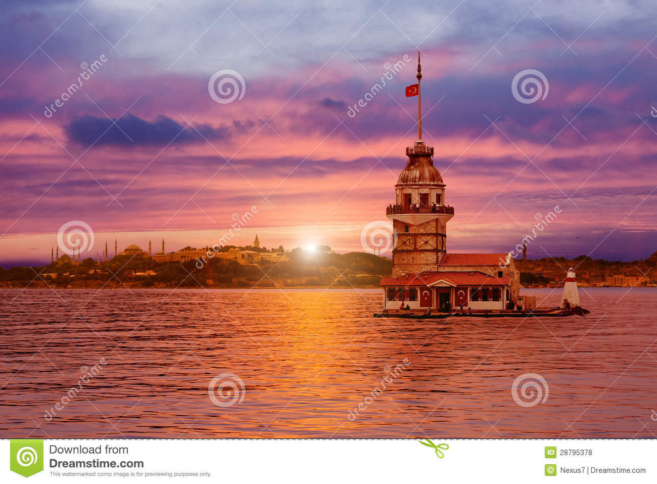 Maiden s Tower in Istanbul