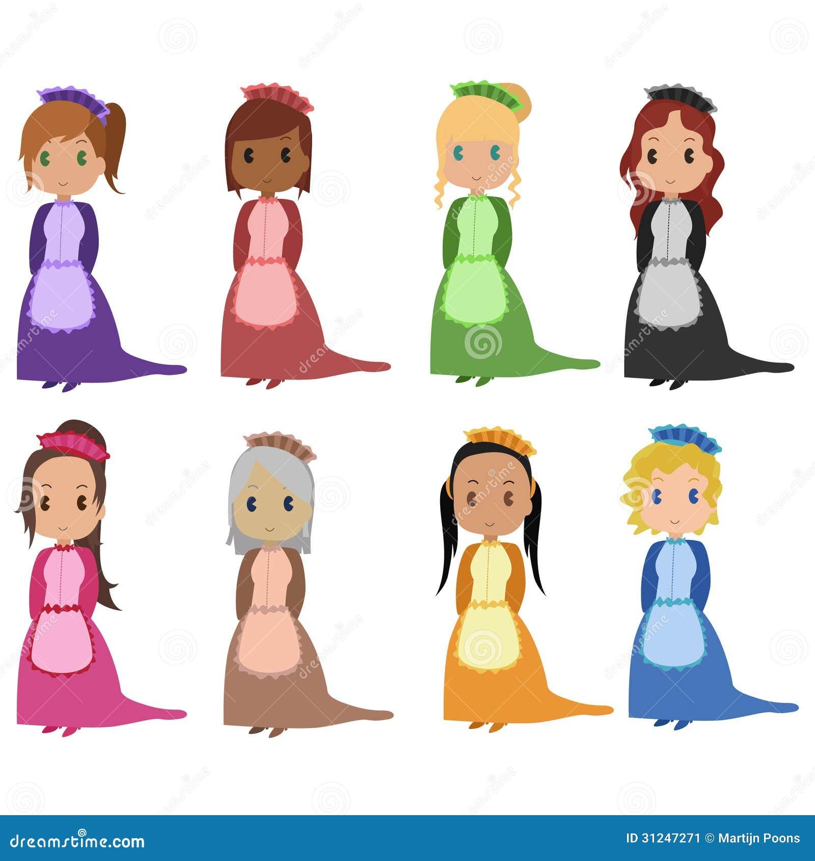 Maids Stock Image Image 31247271