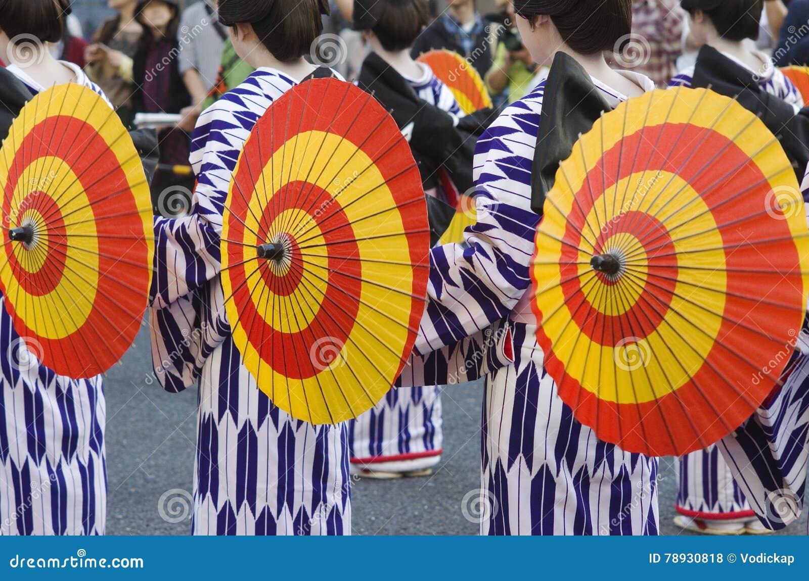 Maiko στο φεστιβάλ του Νάγκουα, Ιαπωνία
