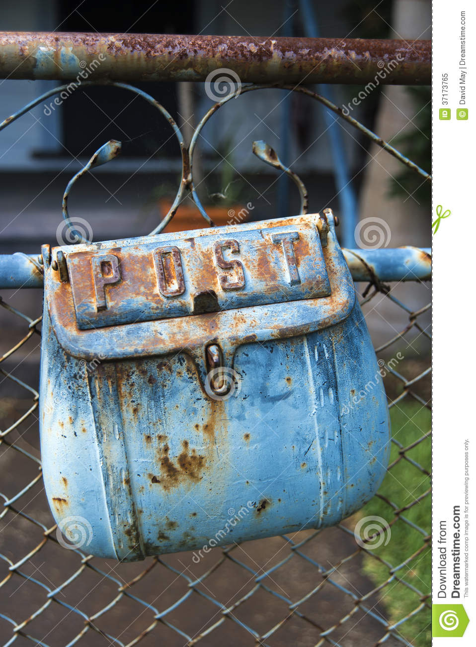 Mail Box detail stock image. Image of wire, horizontal - 37173765