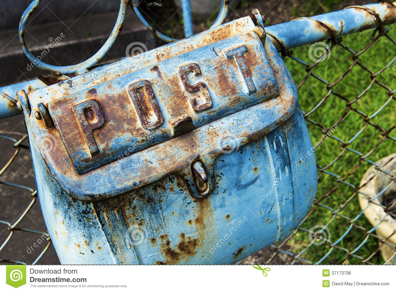 Mail Box rust stock photo. Image of postoffice, email - 37173796