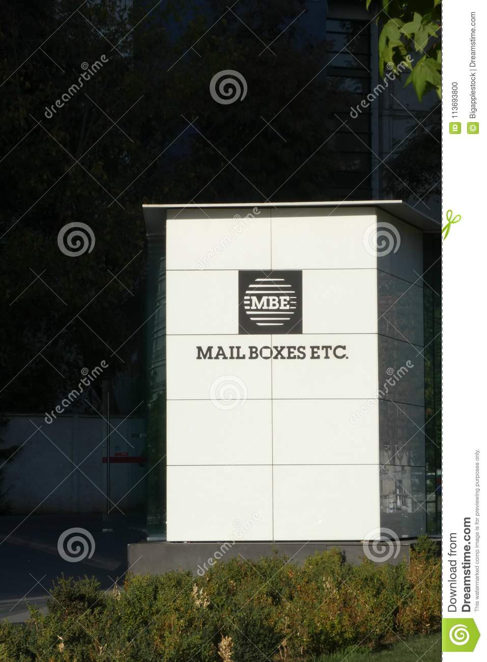 Mail Boxes Etc Editorial Image Image Of Franchises 113693800