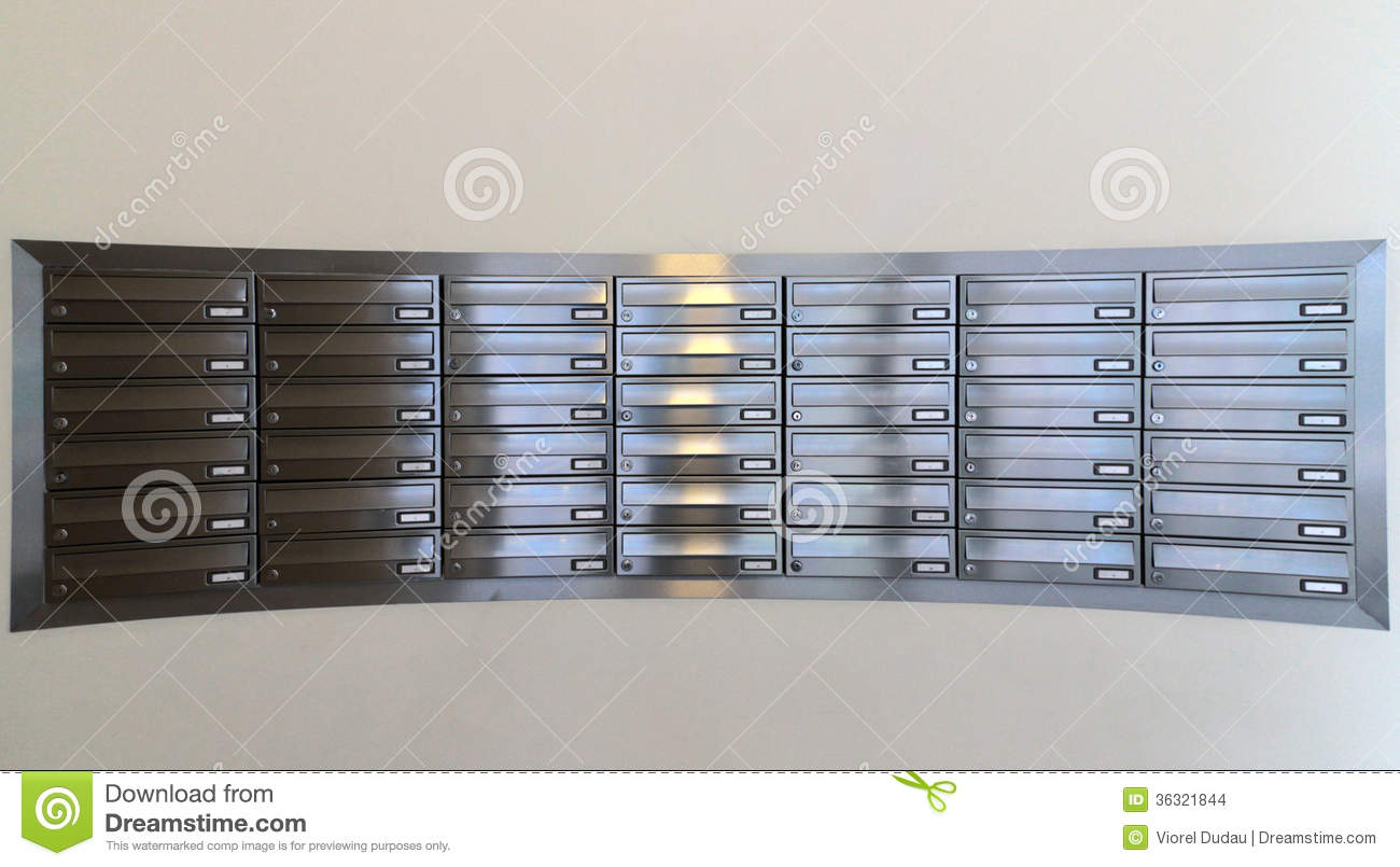 mail boxes stock images image 36321844