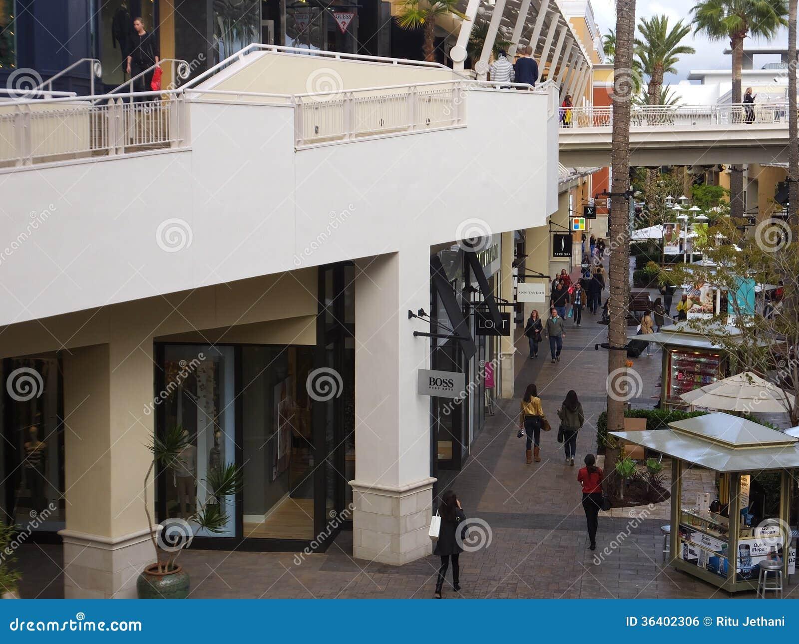 Mail de vallée de mode à San Diego, la Californie