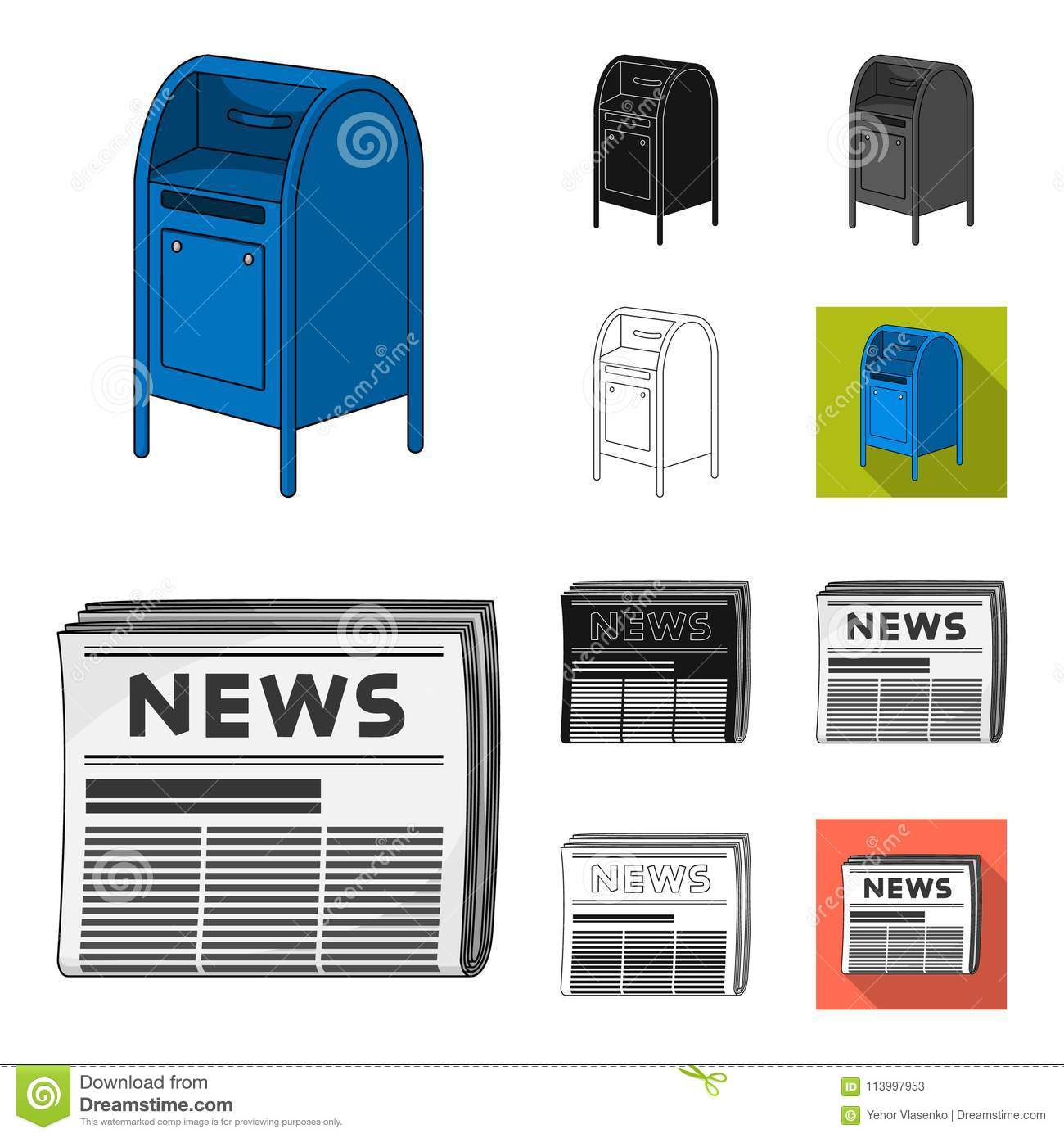 Mail And Postman Cartoon,black,flat,monochrome,outline Icons