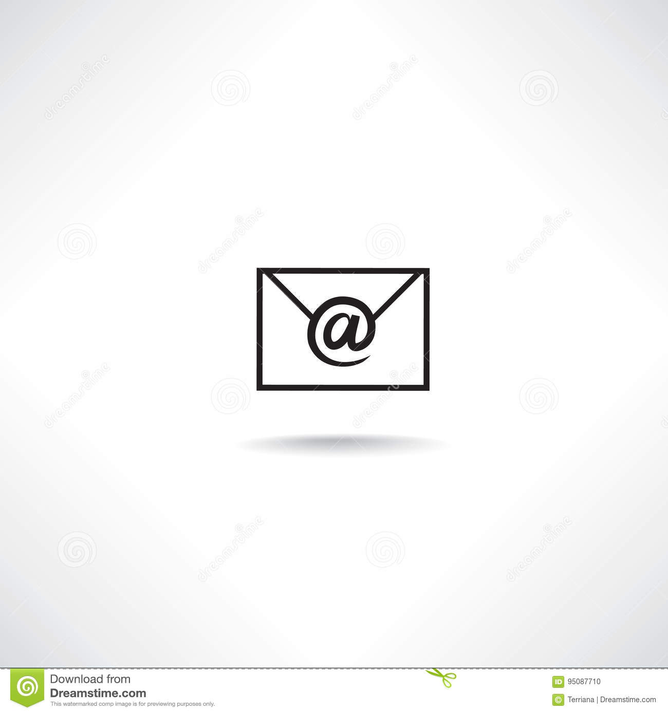 Mail Sign  E
