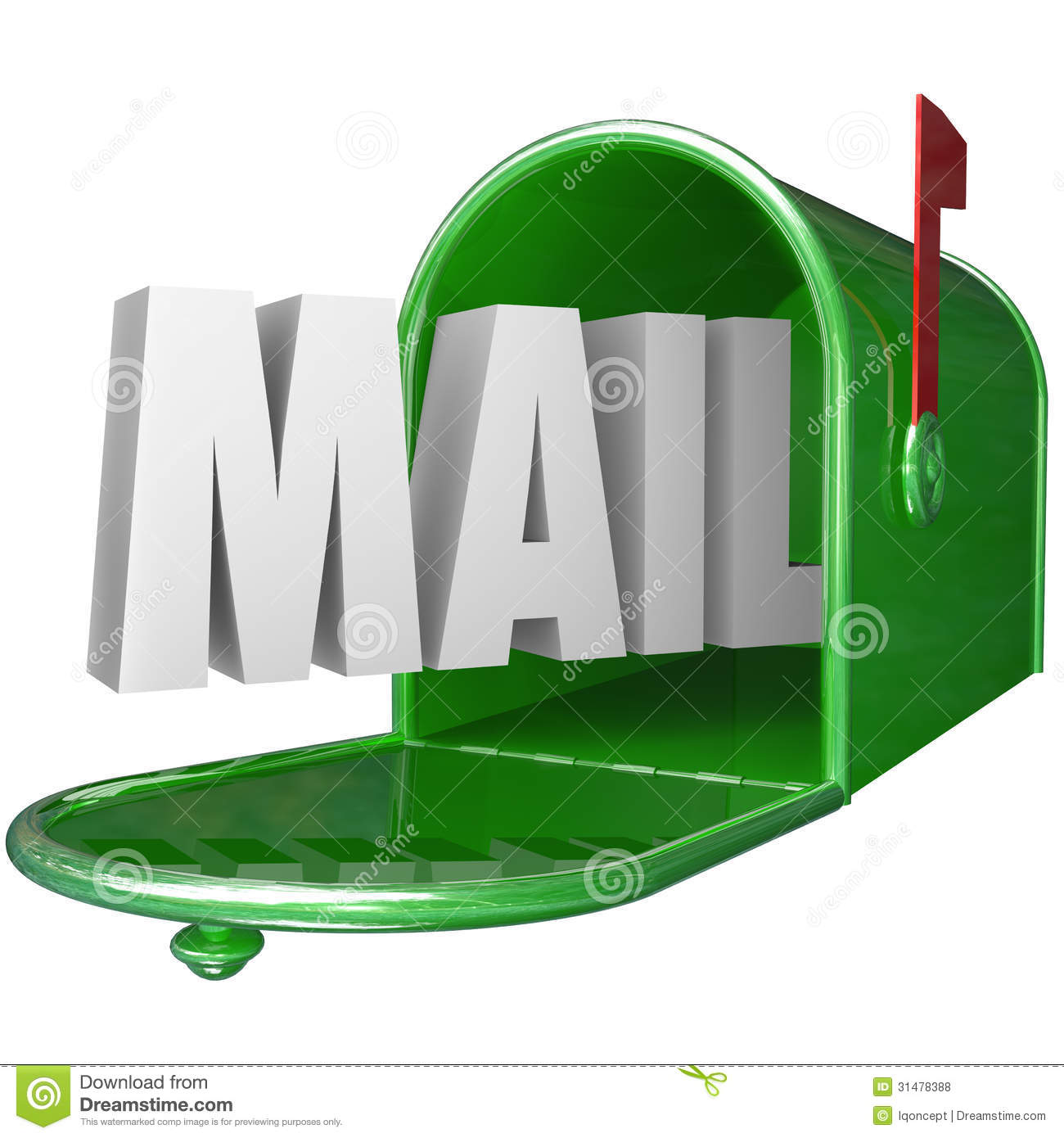 Pictures  Word  Letters Mailbox