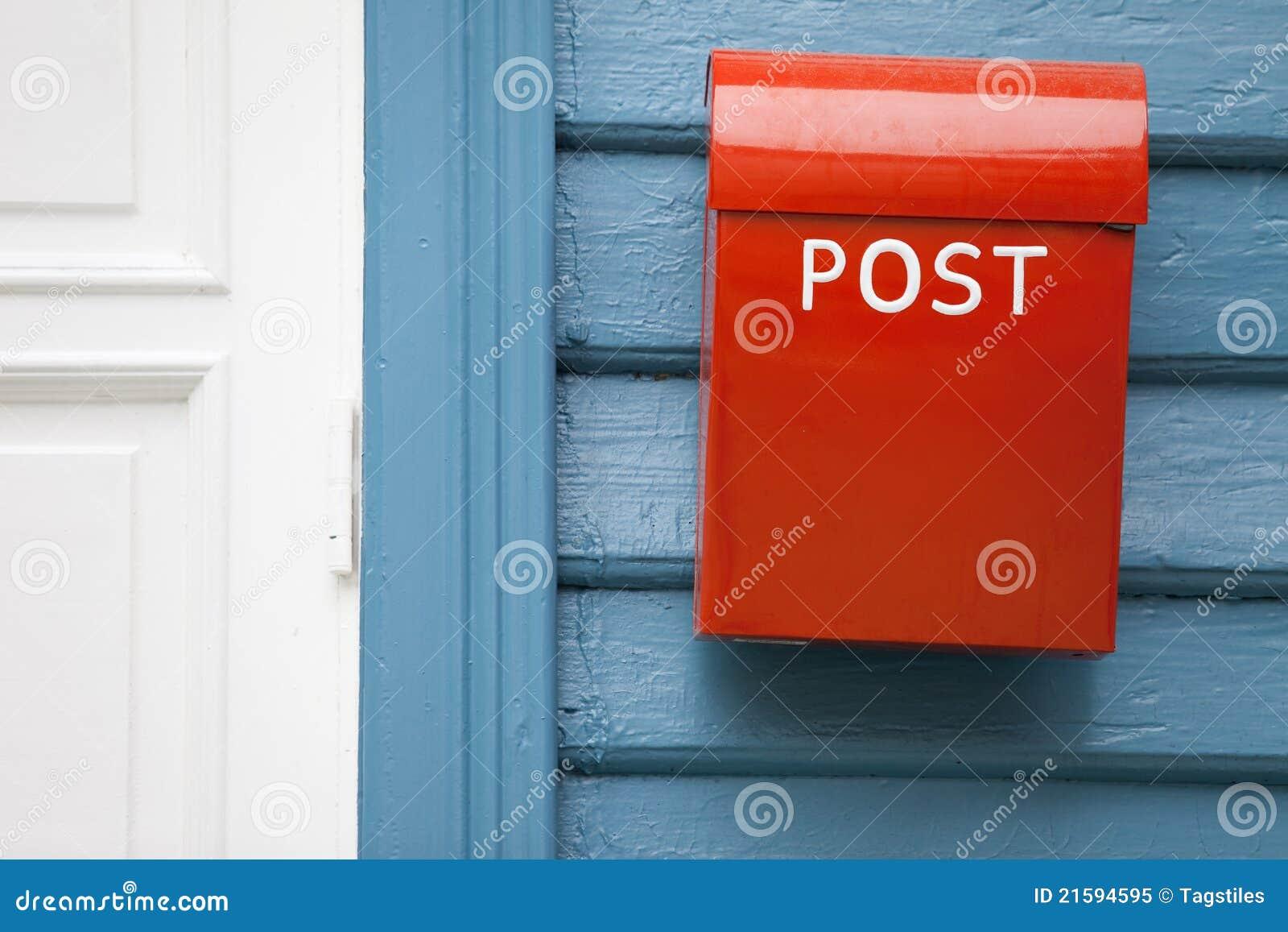 Download Mailbox stockbild. Bild von letterbox, norwegen, post - 21594595