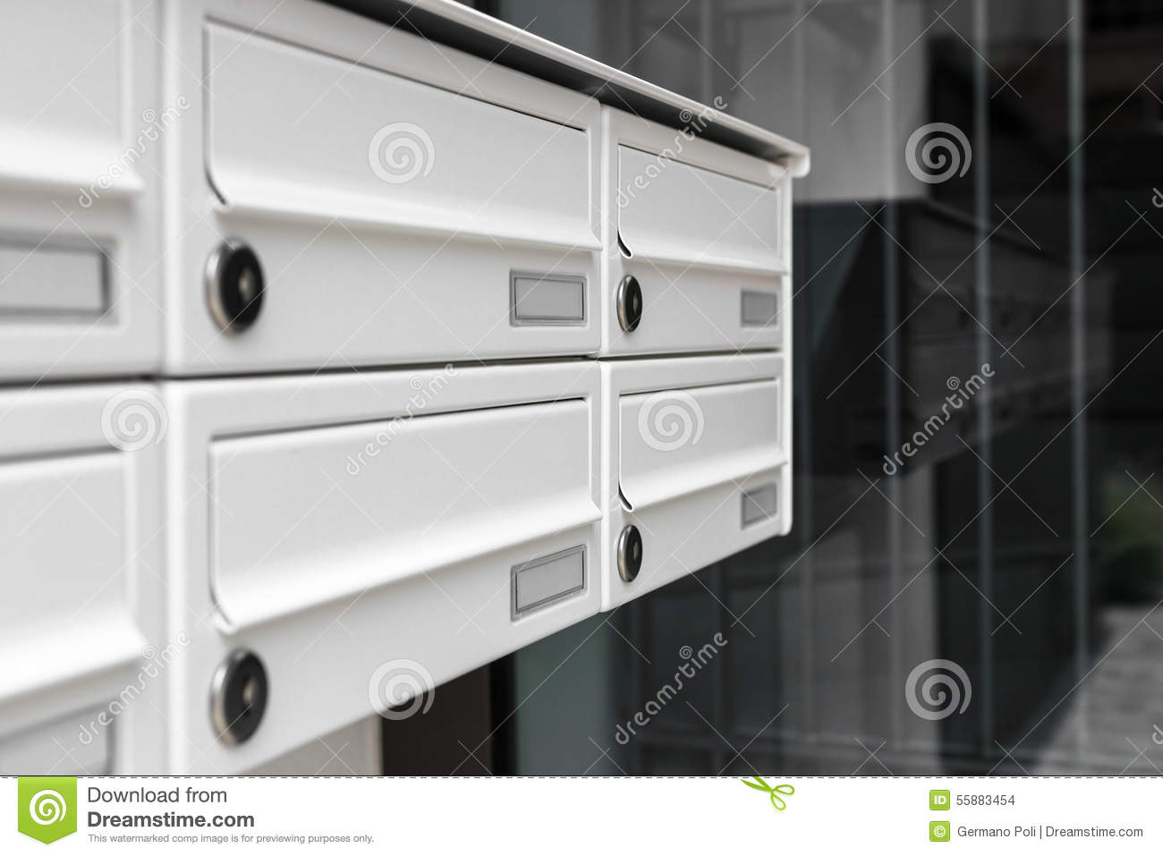 mailboxes stock photo image 55883454