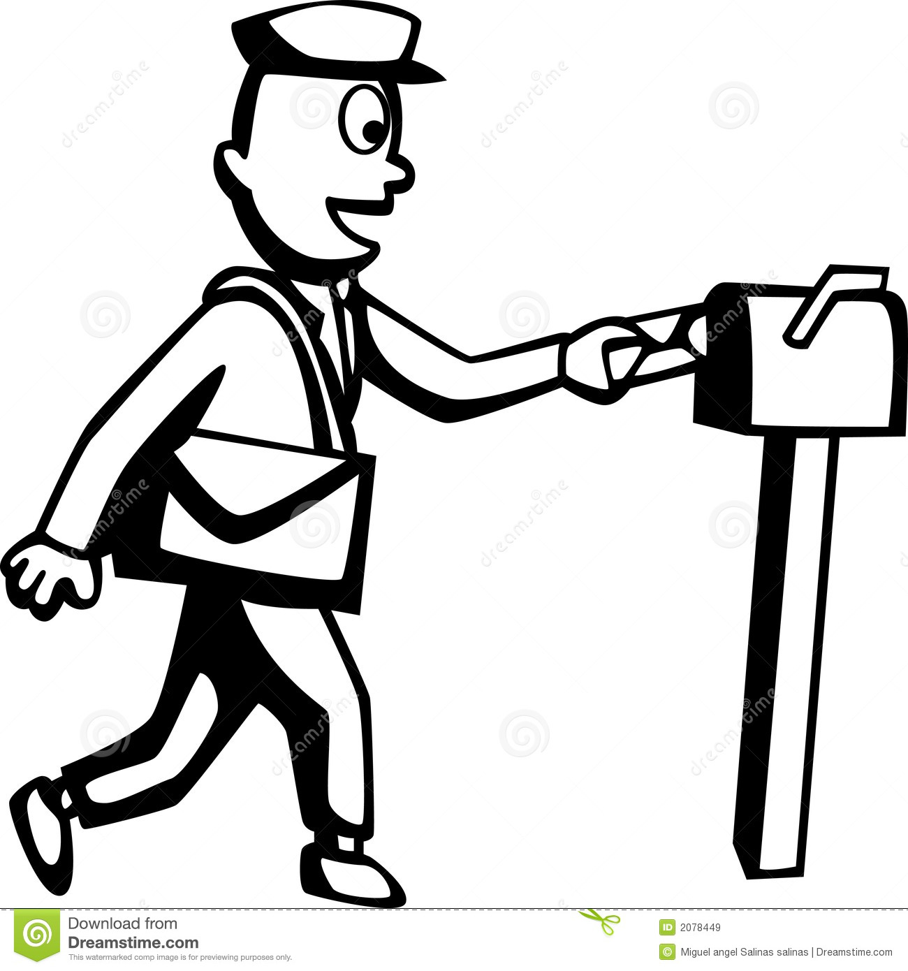 Mailman Royalty Free Stock Images - Image: 2078449