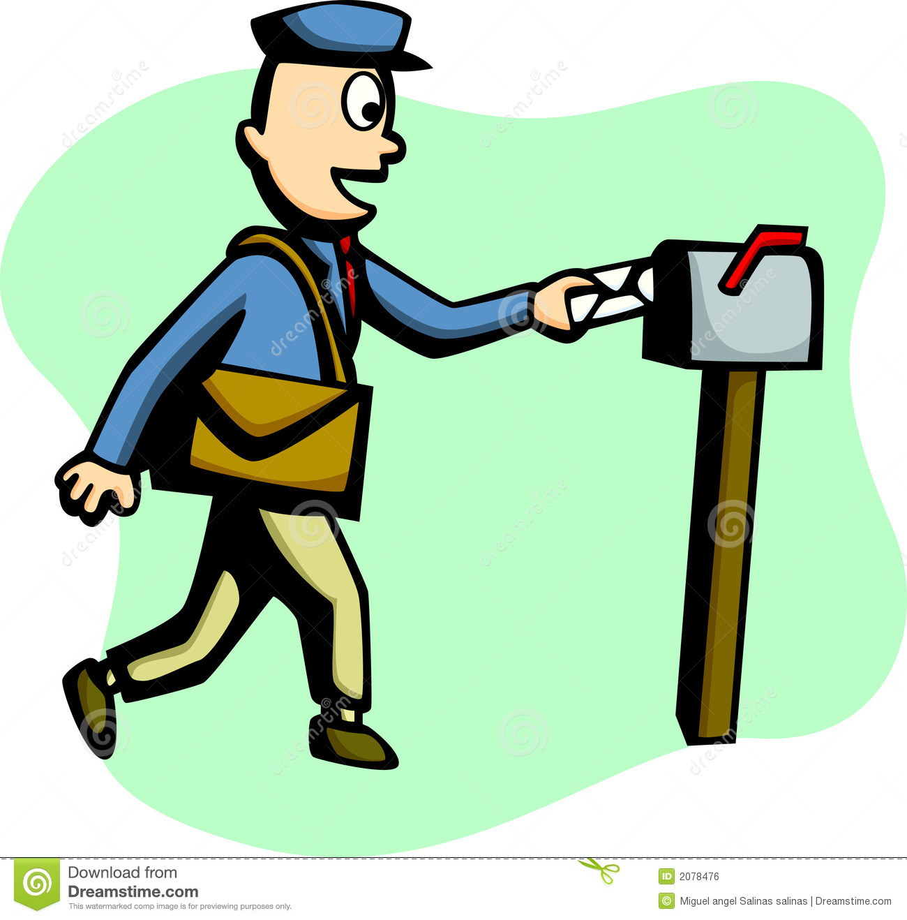 clipart delivery man - photo #49